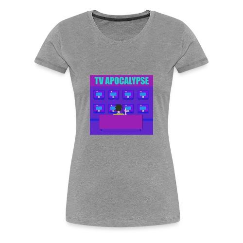 tvApocalypse TV Screens T-Shirt - Women's Premium T-Shirt