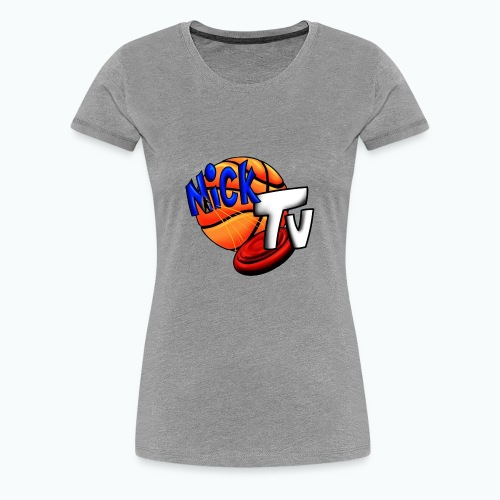 Nick TV Big and Tall - Women's Premium T-Shirt