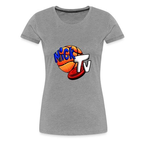 Nick TV Big and Tall - Women's Premium T-Shirt