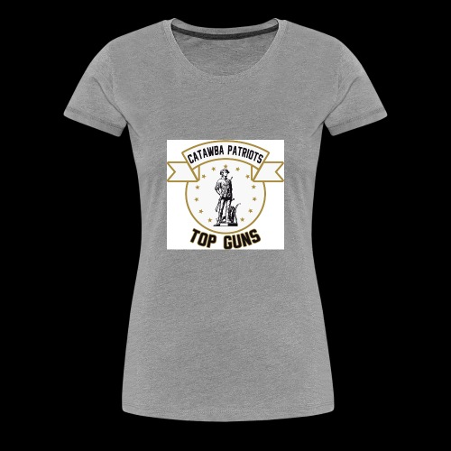 CatawbaPatriotsTopGuns - Women's Premium T-Shirt