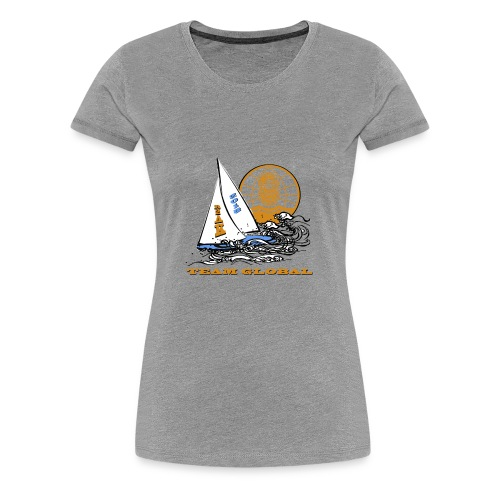 2018 R2AK Team Global - Women's Premium T-Shirt