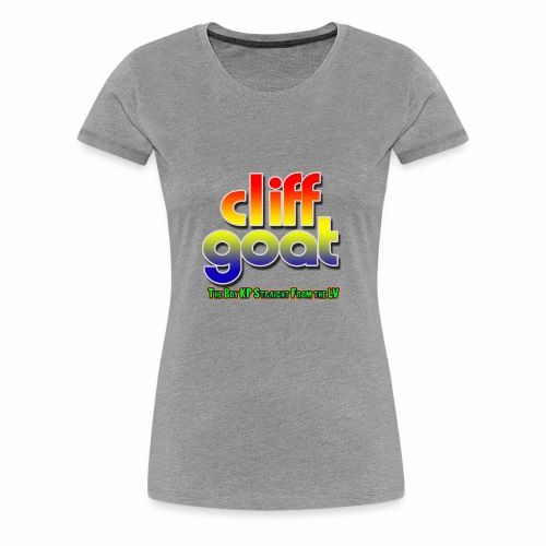 cliffgoat June 2018 Logo - Women's Premium T-Shirt