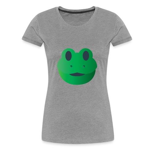Froggy Icon - Women's Premium T-Shirt