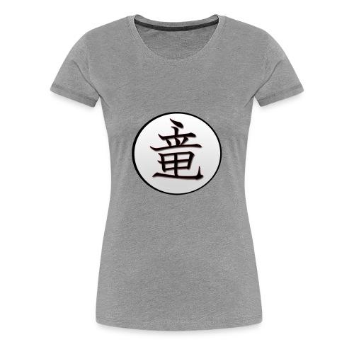 DragonMaster Kanji - Women's Premium T-Shirt