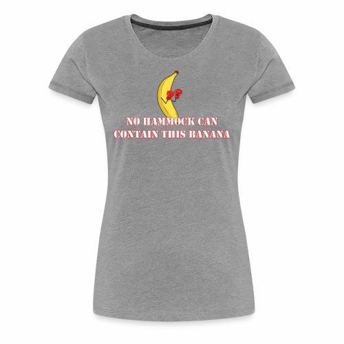 Banana Boxing - Women's Premium T-Shirt