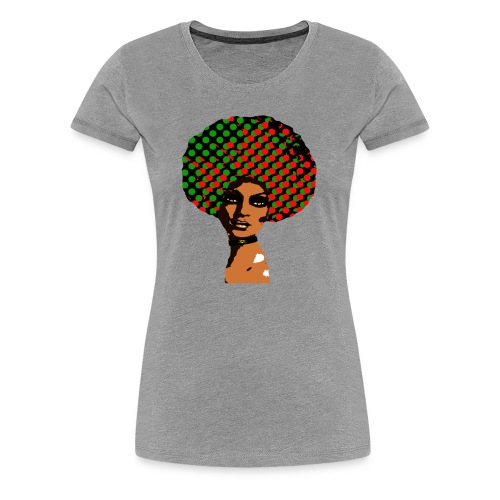 Ebony Empress Head Logo - Women's Premium T-Shirt