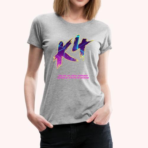 K4 GALACTIC - Women's Premium T-Shirt