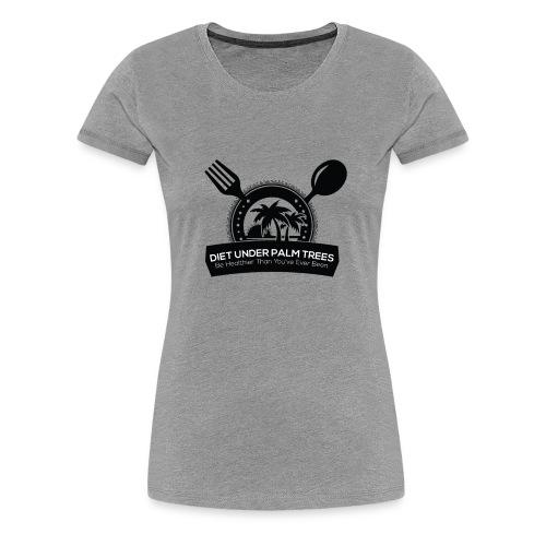 Diet Under Palm Trees - Women's Premium T-Shirt