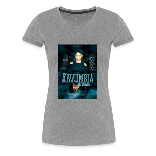 Killumbia, USA Monica - Women's Premium T-Shirt