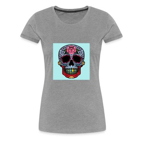 creative skull - Women's Premium T-Shirt