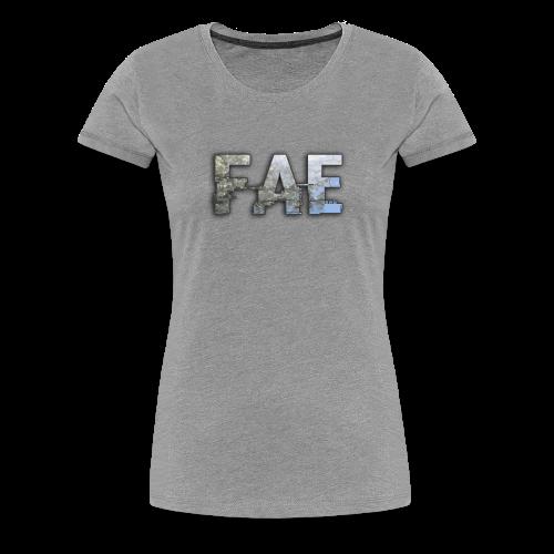 Fae Logo - Blooming Tree - Women's Premium T-Shirt