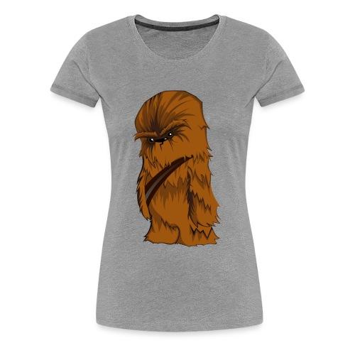 Angry Chewbacca - Women's Premium T-Shirt