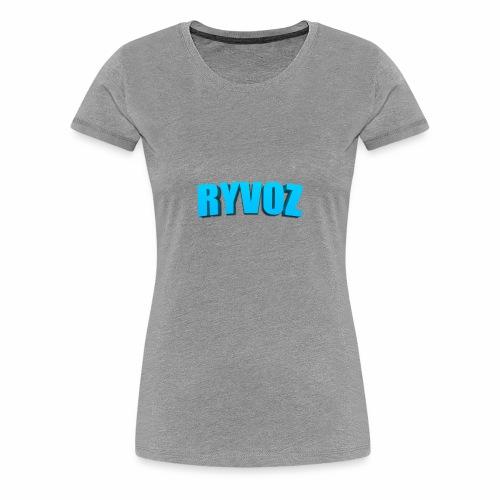 Ryvoz RuiZhi 3D logo - Women's Premium T-Shirt