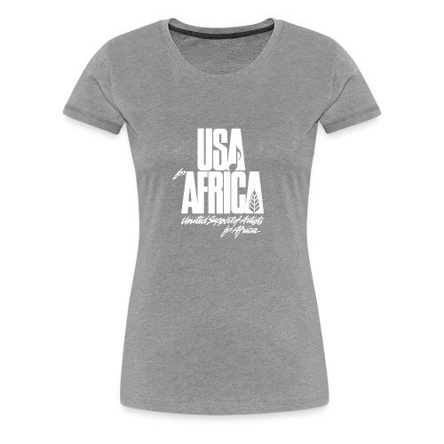 USA for africa merch - Women's Premium T-Shirt