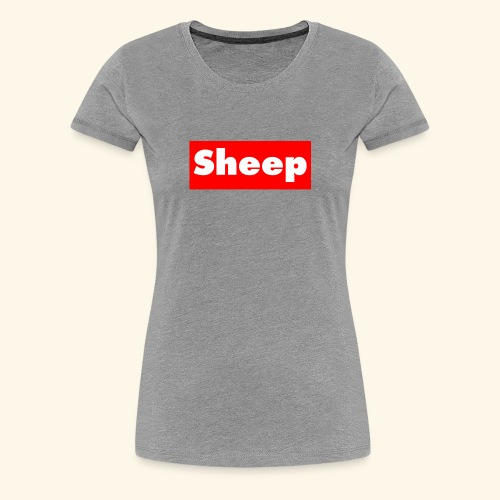 sheep hoodie - Women's Premium T-Shirt