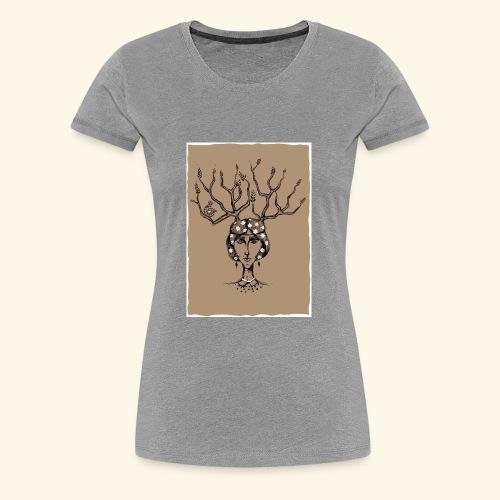 The Tree Girl - Women's Premium T-Shirt