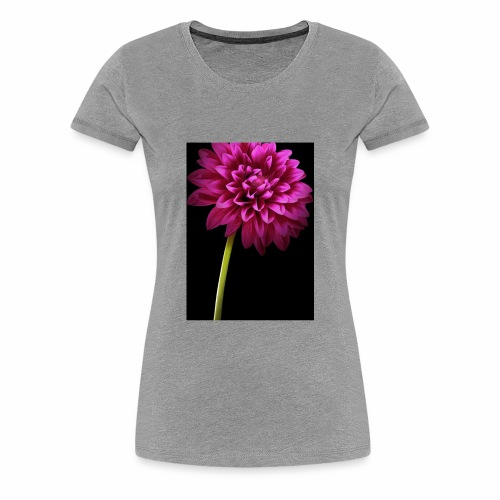 Pink Flower - Women's Premium T-Shirt
