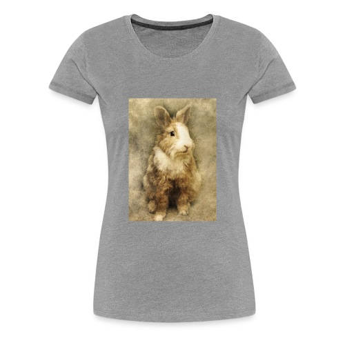 Rabbit portrait 1 - Women's Premium T-Shirt