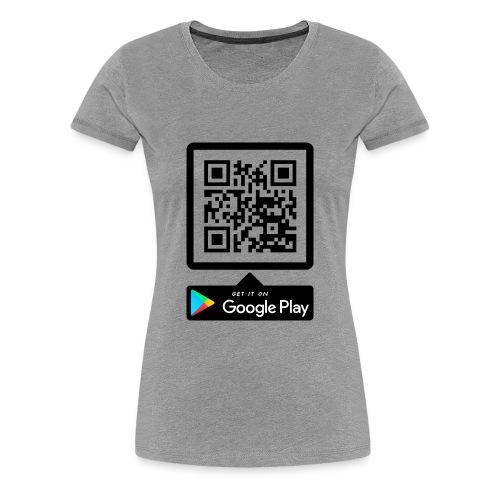QR GTP - Women's Premium T-Shirt