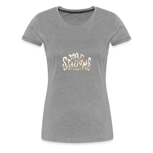 Stallyns logo - Women's Premium T-Shirt