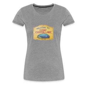 camp crystal lake sign - Women's Premium T-Shirt