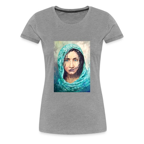 portrait - Women's Premium T-Shirt