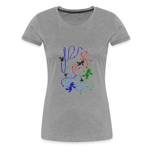 abstract spots - Women's Premium T-Shirt