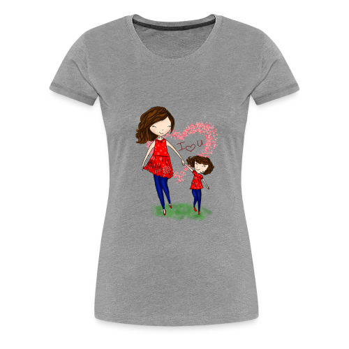 To show love between mother and daughter - Women's Premium T-Shirt