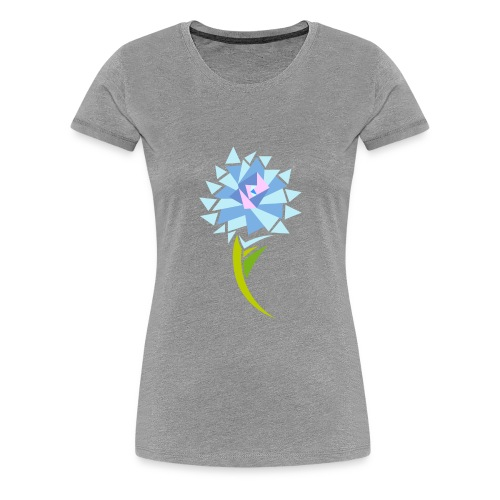 sunflower abstract - Women's Premium T-Shirt