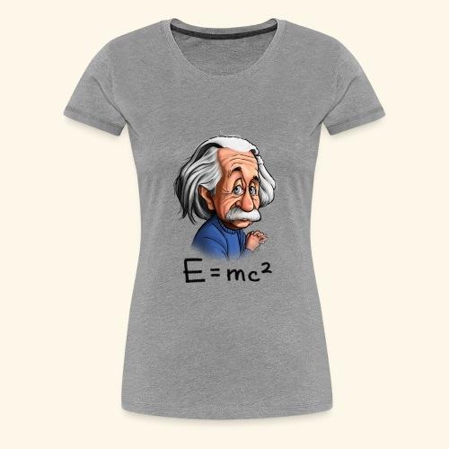 Einstein Tee - Women's Premium T-Shirt