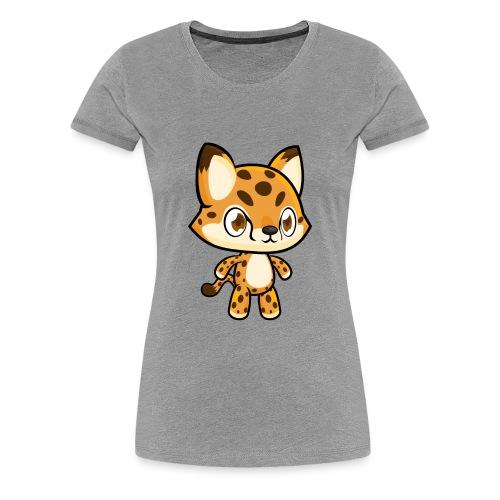 Cheetah Idle - Women's Premium T-Shirt