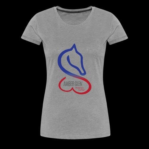 AMBER GLEN FULL LOGO 01 - Women's Premium T-Shirt