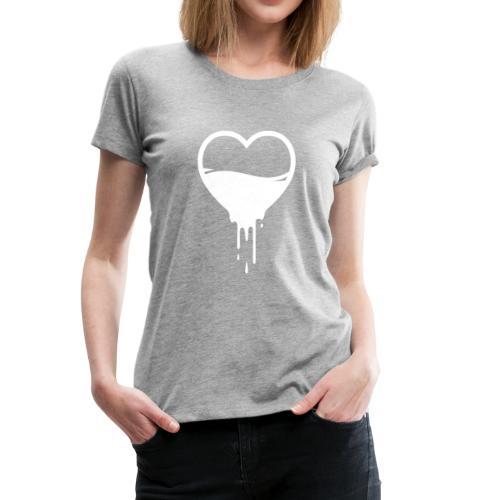 Liquid Heart - Women's Premium T-Shirt