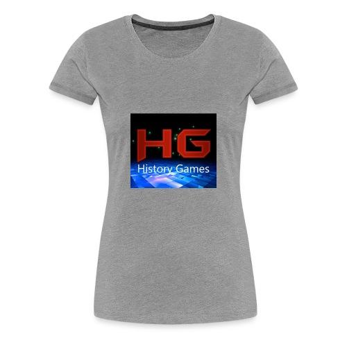 Nuevo logo History Games - Women's Premium T-Shirt