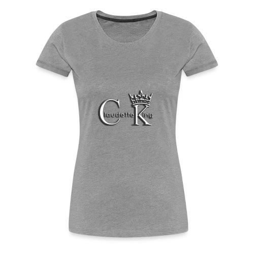 Claudett Blues King - Women's Premium T-Shirt