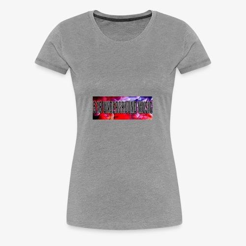 518 Whirl Design - Women's Premium T-Shirt