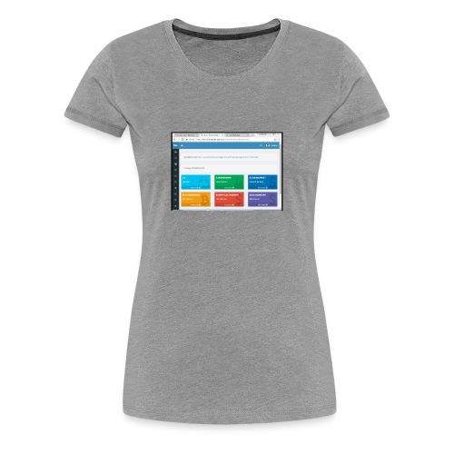 Earning - Women's Premium T-Shirt