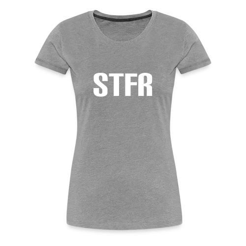 STFR White - Women's Premium T-Shirt