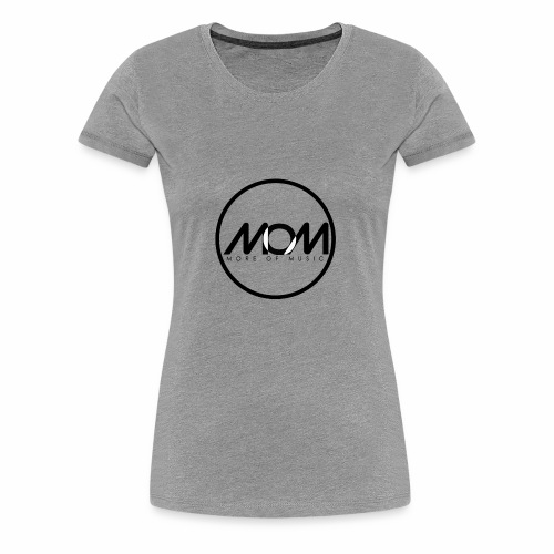 MOM Black 00 - Women's Premium T-Shirt
