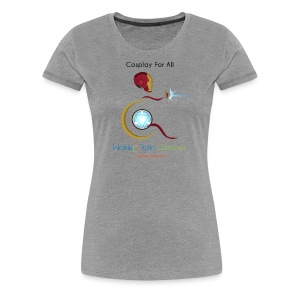 Cosplay For All: IronMan - Women's Premium T-Shirt