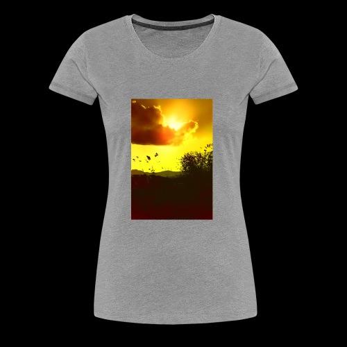 Sun Soaked Sky - Women's Premium T-Shirt