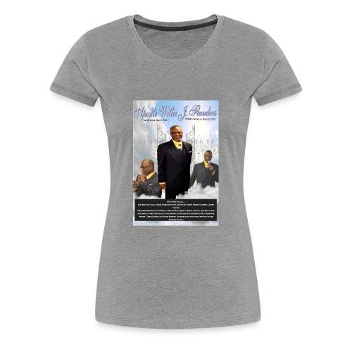 Apostle Flanders Designs - Women's Premium T-Shirt