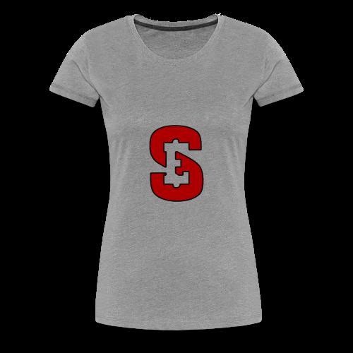 Self Enrichment Logo Red - Women's Premium T-Shirt