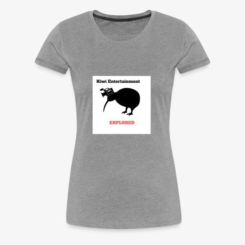Kiwi Entertainment 1 - Women's Premium T-Shirt