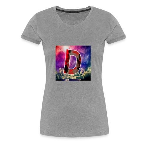 DamianStreams Logo design - Women's Premium T-Shirt