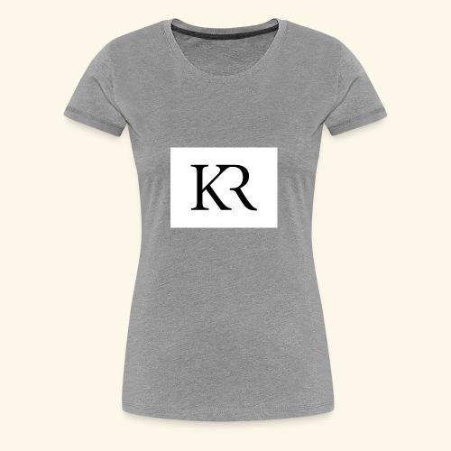 kr - Women's Premium T-Shirt