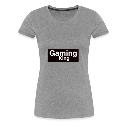 Gaming king - Women's Premium T-Shirt
