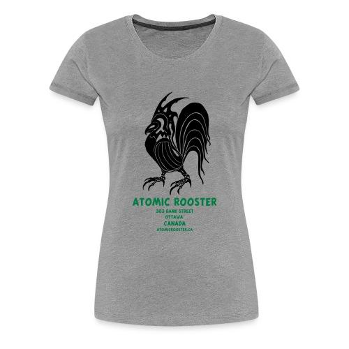 AtomicRooster Tshirt - Women's Premium T-Shirt