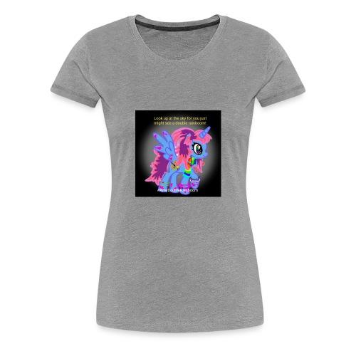 Rainboom merch - Women's Premium T-Shirt