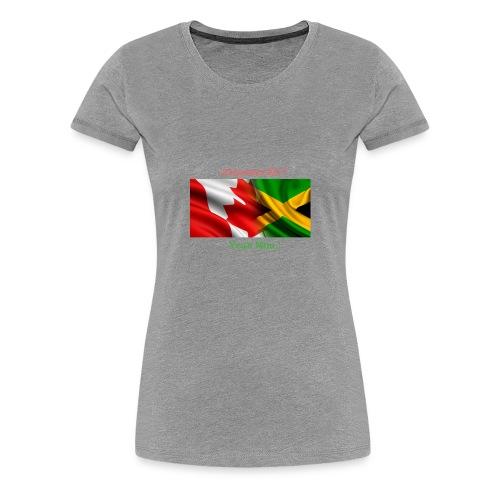 Canada Jamaica - Women's Premium T-Shirt